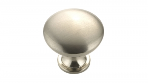 Contemporary Metal Knob - 9041 - 30 mm - Brushed Nickel