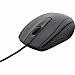 Verbatim - 98106 - Bravo Wired Notebook Optical Mouse - USB - Noir