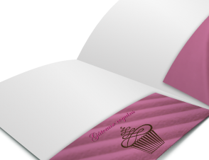 Presentation Folders - 14pt + UV Coating