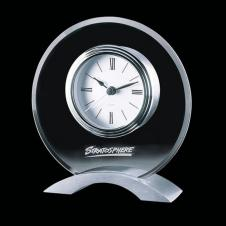Rothsay Clock with Brushed Aluminum Base
