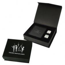 Coasters And Ice Cubes In Gift Box (4 Piece Set)
