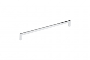 Contemporary Metal Pull - 873 - 320 mm - Polished Nickel