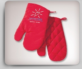 BBQ Oven Mitts (Pair)
