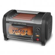 Hot Dog Roller Grill w/ Bun Warmer