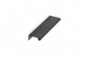 Poignée contemporaine pour rebord en métal - 9696 - 128 mm - Noir brossé