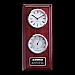 Two Face Simmons Clock & Thermometer