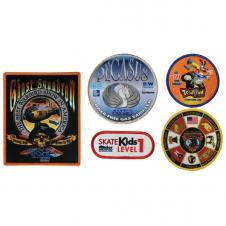 4 X 4 Sublimated Photo Emblems