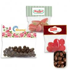Large Header Bag Milk Chocolate Raisins
