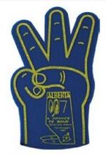 Foam 3 Finger Hand