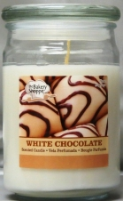 BAKE SHOP 15 OZ CANDLE JAR-WHITE CHOCOLATE