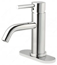 Robinet de salle de bain Riveo - 7-9/32 x 5-7/16 - Chrome