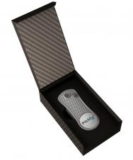 Pitchfix Classic in Carbon Fiber Box W/Custom Logo On Cover