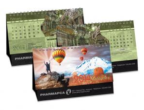 Calendrier de bureau - MOTIVATION - DOUBLE VUE®