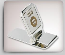 Stainless Steel 2-Tone Money Clip