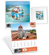 Custom CD Desk Calendar