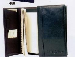 Water Buffalo Calfskin Address Book w/ Weekly Planner (Full Grain)