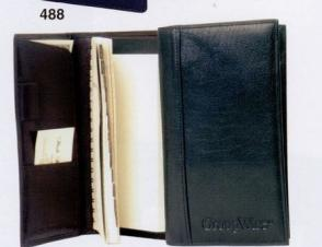 Water Buffalo Calfskin Address Book w/ Weekly Planner (Full Grain)