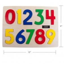 IPLAY - casse-tête en bois - Chiffres - 9 x 12 (30 x 22.5 cm)