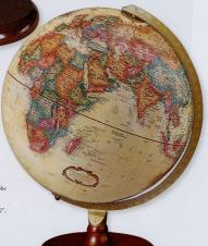 Piedmont Antique Ocean Desk Globe