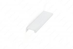 Poignée contemporaine pour rebord en métal - 9696 - 192 mm - Blanc