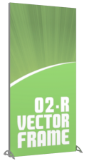 Vector Frames - 70 x 35w Rectangle frame (02) - With OCS case