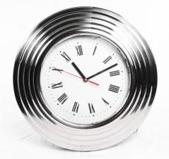 Horloge Murale - Rond Chrome - 16
