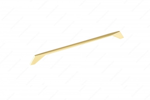 Contemporary Metal Pull - 9256 - 342 mm - Brushed Gold