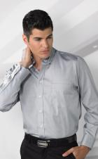 VanHeusen 18CV143  - Men's Long Sleeve Wrinkle Free Shirt - 100% Cotton
