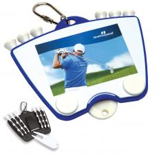 4 Color Process Universal Golf Tee Holder