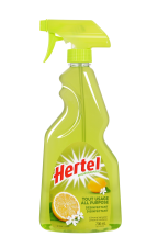 HERTEL ALL PURPOSE DISINFECTANT SPRAY CLEANER LEMON - 700 ML