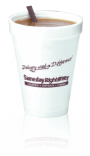 Foam Cups - Hot or Cold - 12 oz.