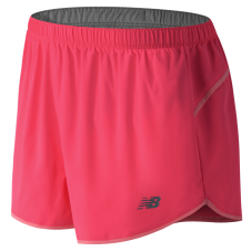 NEW BALANCE - WS53849 - Short SEQUENCE pour femmes - 100% Polyester - Rose - Small
