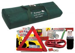 Designer Auto Safety Kit w/500 Amp Booster Cables (12 Piece Set)