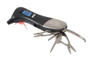 Safety Hammer Multi-tool w/ Digital Tire Gauge