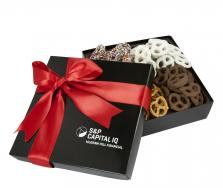4 Delight Gift Box with Assorted Mini Pretzels