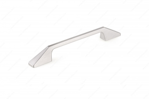 Poignée contemporaine en métal - 7238 - 160 mm - Nickel brossé