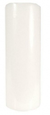 3X8 UNSCENTED PILLAR WHITE