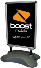 Banner Stand - Sidewalk Poster Stand (Large Double Sided)