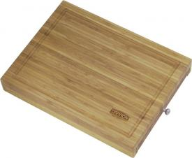 Bamboo Cutting Board with Knives