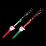 LED Fiber Optic Wand Santa