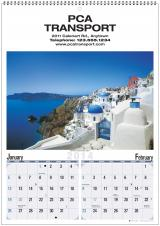 Multi-Sheets Calendars - WORLD SCENIC