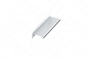 Poignée contemporaine pour rebord en métal - 9696 - 128 mm - Chrome