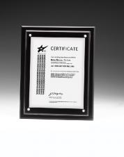 Vertical Magnetic Certificate Insert Frame (10 1/4x12 1/4)