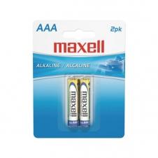 Batterie - Maxell - AAA - Alkaline - Emballage de 2