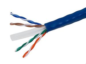 Câble Réseau - Ethernet CAT6 - En vrac - UTP 4P - CCA - Bleu - 1000 pieds