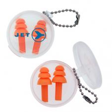Silicone Earplug Keychain (50 Days Direct Import)
