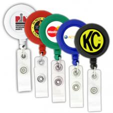 BioGreen Round-Shaped Retractable Badge Holder