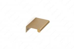 Poignée contemporaine pour rebord en métal - 9696 - 50 mm - Champagne bronze