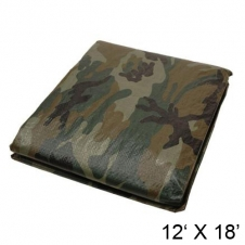 HARVEY TOOLS - BÂCHES - 12' X 18' - CAMO