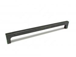 Contemporary Metal Pull - 1414 - 288 mm - Matte Black Iron